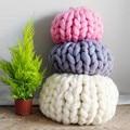 knitting wool 1pcs 250g Woolen Yarn Pure Wool Super Bulky Chunky Knitting Yarn DIY Handmade knitted neckerchief blanket Crochet
