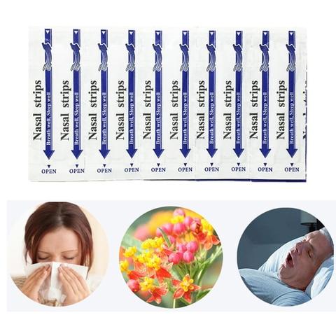 3000pcs 100 caixas 66x19mm parar de ressonar tiras nasais aliviar rinite gesso remedios naturais para