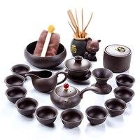Heißer verkauf Xi shi tee-set hohe qualität gongfu Lila tee-set freies verschiffen
