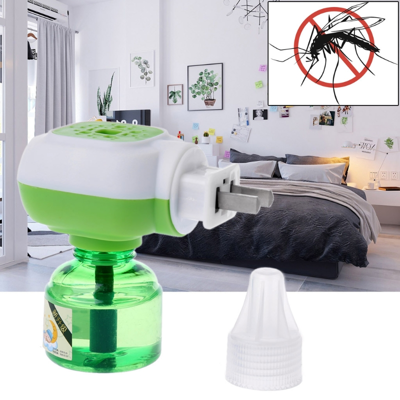 New Refillable Protector Anti Fly Mosquito Insect Repeller Electric Liquid Repellent Garden Supplies(China)
