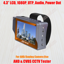 Monitor Cctv-Tester PTZ Battery UTP Audio LCD Analog-Camera Video CVBS Rechargeable AHD