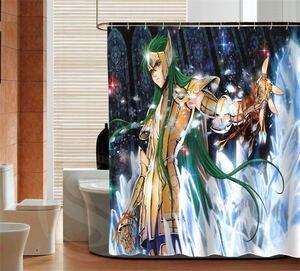 Image 2 - Personality Saint Seiya custom Shower Curtain Bathroom decor waterproof various sizes Free Shipping MORE SIZE SQ0506 ZHH