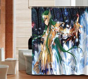 Image 2 - 人格聖闘士星矢カスタムシャワーカーテンバスルーム装飾防水さまざまなサイズ送料無料よりサイズSQ0506 ZHH