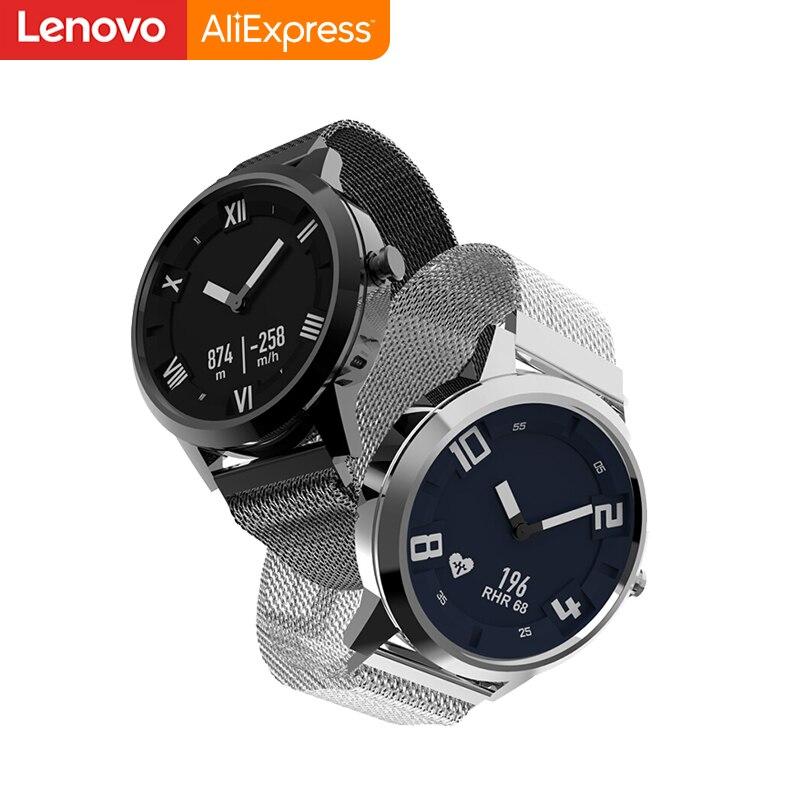 Lenovo Watch X montre intelligente mécanique OLED écran verre saphir Smartwatch 45 jours en veille 80 M fréquence cardiaque étanche