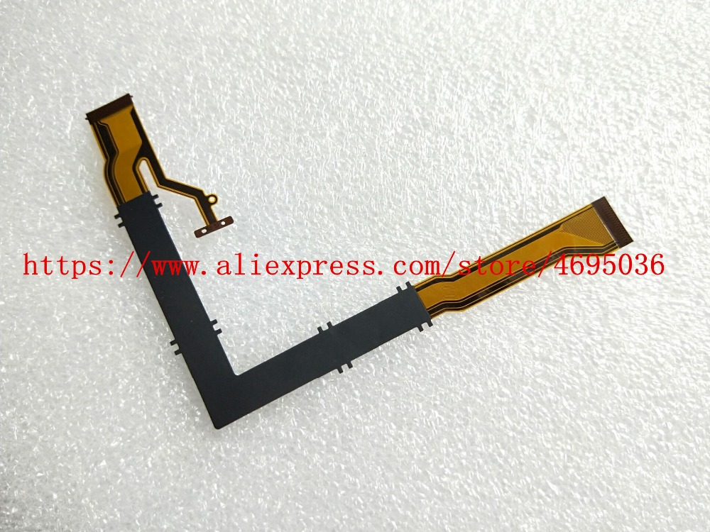 50PCS/NEW Shaft Rotating LCD Flex Cable Part For CASIO Exilim EX-ZR3500 EX-ZR2000 ZR2000 ZR3500 Digital Camera Repair Part