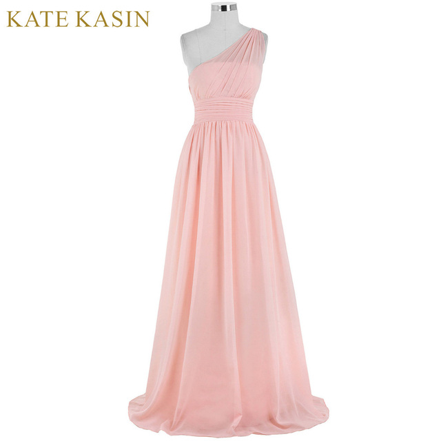 Kate Kasin Evening Dresses Long Full Length Gowns Blue Pink One ...