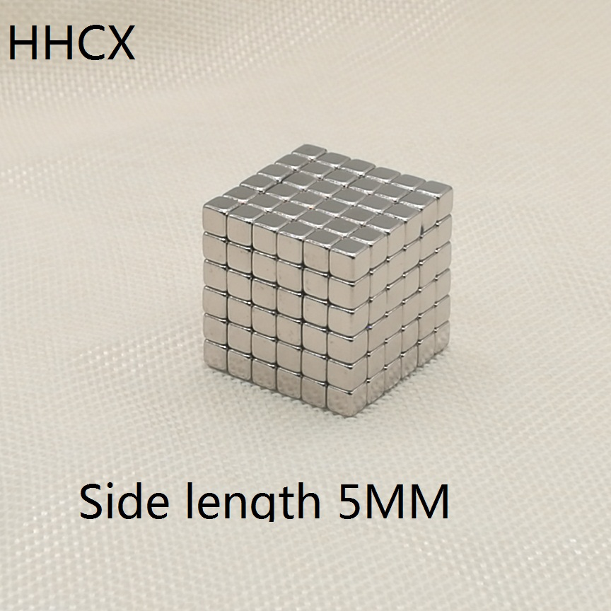 50pcs/lot Cube <font><b>magnet</b></font> <font><b>5x5x5</b></font> mm N35 Strong Square NdFeB <font><b>Magnet</b></font> 5*5*5 mm <font><b>Neodymium</b></font> Cuboid <font><b>Magnets</b></font> 5mm x 5mm x 5mm buck image
