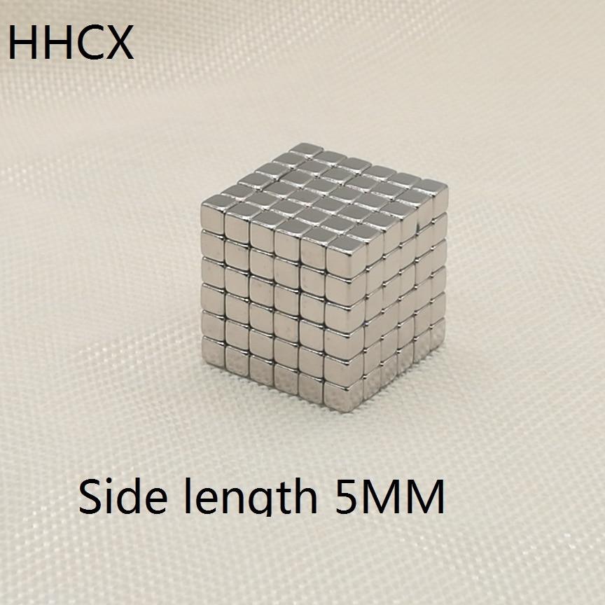 50pcs/lot Cube Magnet 5x5x5 Mm N35 Strong Square NdFeB Magnet 5*5*5 Mm Neodymium Cuboid Magnets 5mm X 5mm X 5mm Buck