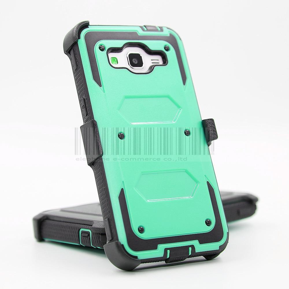 Funda de armadura a prueba de golpes resistente con cubierta de clip - Accesorios y repuestos para celulares - foto 3