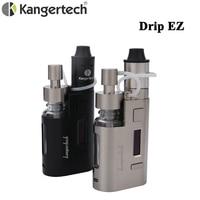Original Kanger Drip EZ Starter Kit 80W E Cigarette Box Mod Vape Pump RBA 0.3 Ohm Drip Coil 0.2Ohm Kangertech DRIPEZ Vaporizer