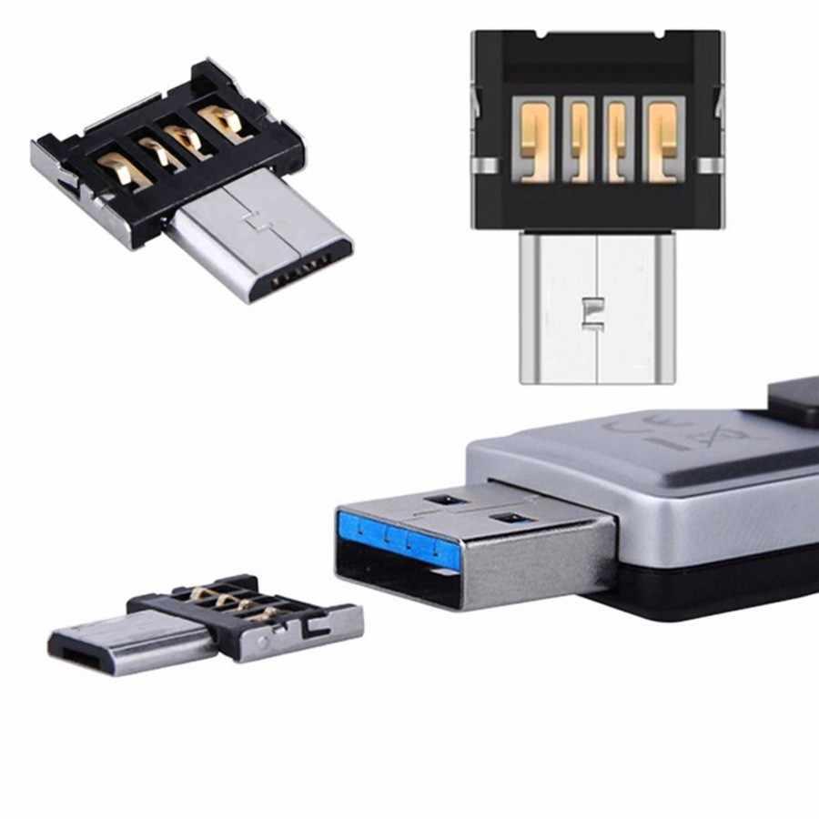 2018デジタルデータブラックミニマイクロusbケーブルotg変換アダプタに米国telefoni originali携帯電話アクセサリードロップシッピング