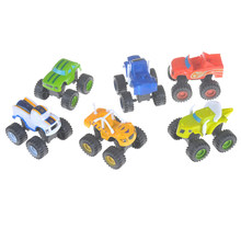 6PC Russia Blaze Miracle Cars Blaze Rud Toys Kids Car Model Hotwheels Mini Car Collection Toys(China)