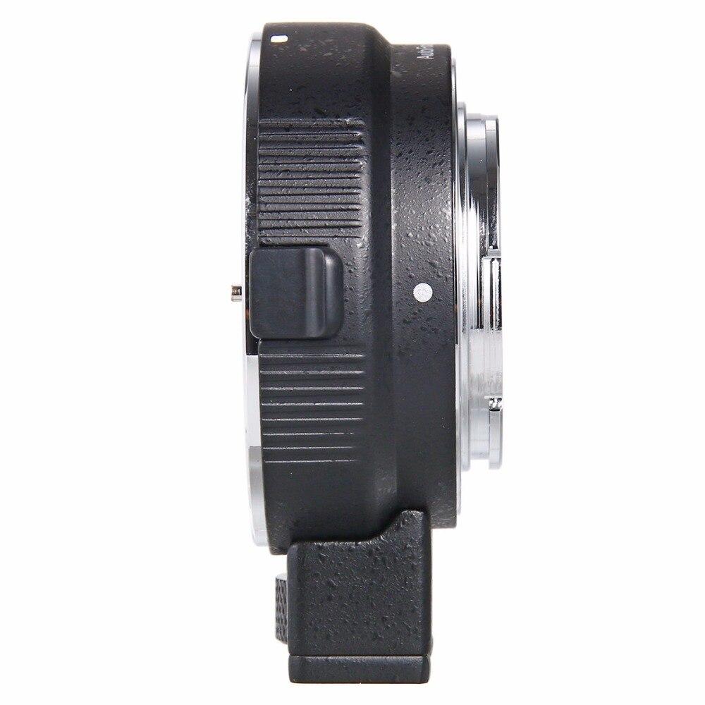 Adaptador de montaje de lente Auto Focus EF-NEX para Sony Canon EF EF-S lente a E-Mount NEX A7 A7R A7s NEX-7 NEX-6 5 completa - 5