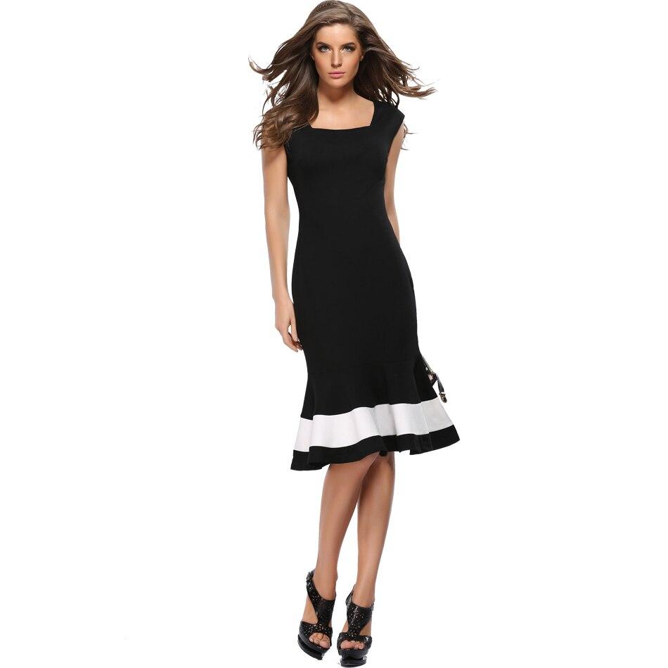 Квадратный вырез горловины на платье