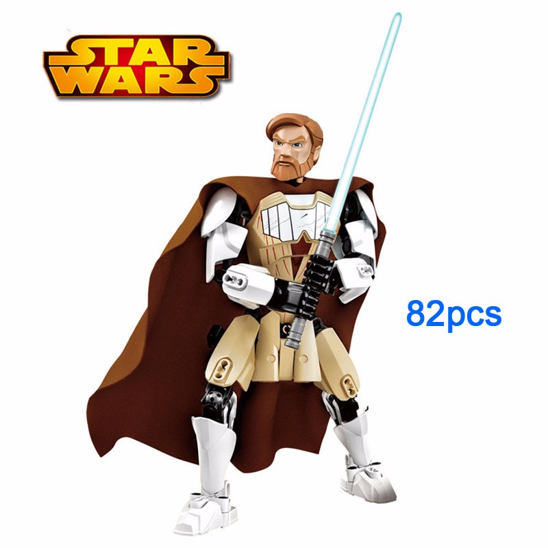 Blocks Star Wars Assembly Action Figure 16