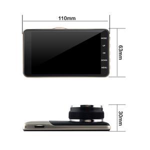 Image 2 - Dashcam Grabadora de conducción para coche, 4 pulgadas, IPS, Full HD, 2019 P, grabadora de conducción DVR para coche, lente gran angular de 1080 grados, cámara de salpicadero para coche, novedad de 170