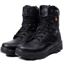 Printemps Automne Hommes Militaire Bottes de Combat Tactique Désert Chaussures Escalade Cheville Bottes Hommes Armée Travail Botas Tacticos Zapatos