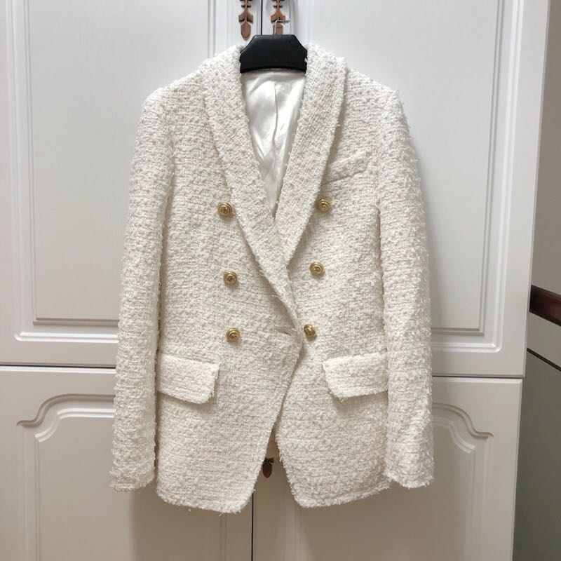De Manteaux Européenne Mode Luxe Marque L0156 Style Vêtements Et 2019 Partie Piste Design Femmes Vestes qEwpf0S