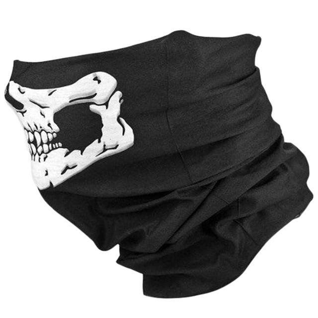 Skull Balaclava Traditional Face Head Mask Gator Black Nwt Tactical