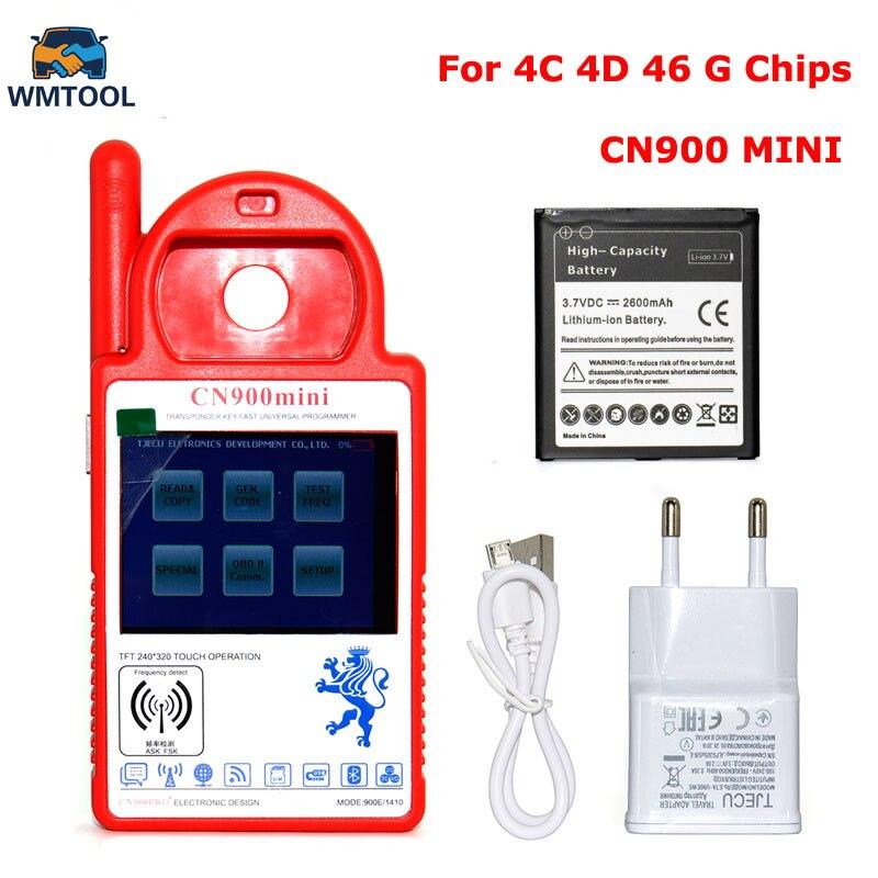 2018 Новые смарт мини CN900 транспондера ключевых программиста микросхем мини CN 900 Многоязычная копия 4C/4D чип Бесплатная доставка