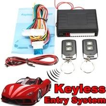 Универсальный сигнализация Системы S авто дистанционного Центральный комплект замок Блокировка автомобиля Автозапуск Системы с удаленным Пульты ДУ для игровых приставок