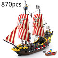 Building block sets enlighten 308 series piratas negro perla educativos diy construcción ladrillos juguetes para bebés bringuedos diy