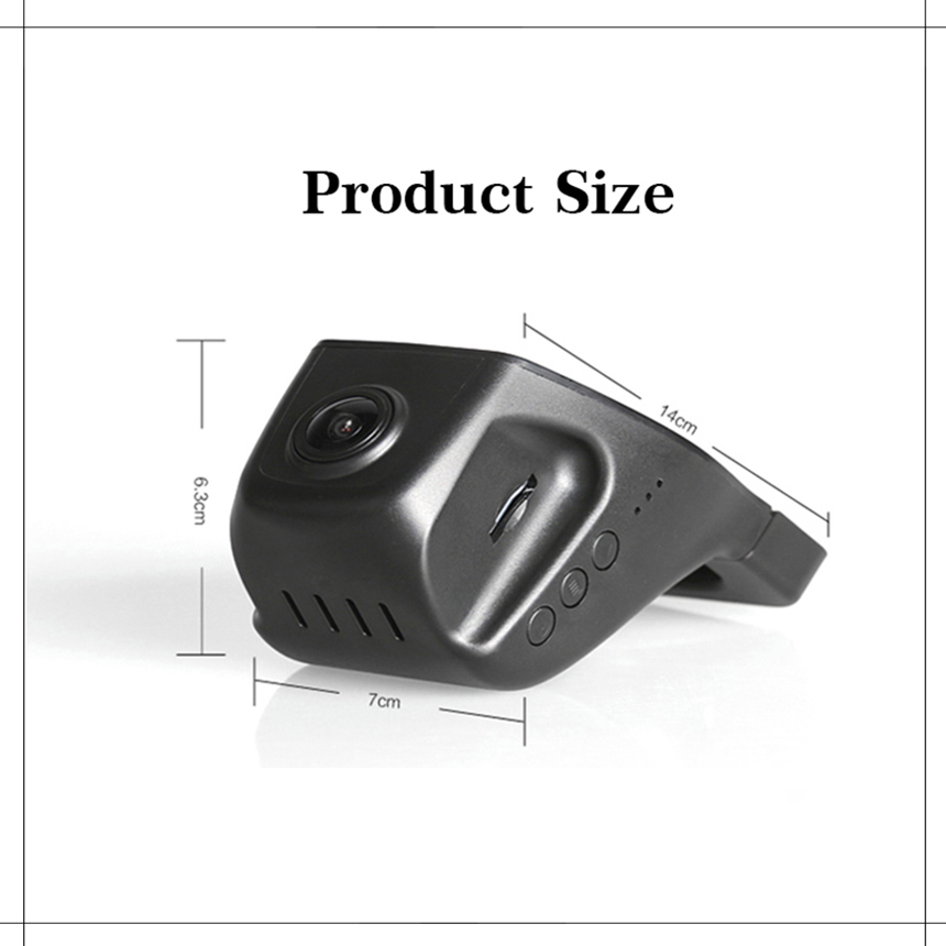 YESSUN Auto Front Dash Camera CAM DVR Rijden Video Recorder voor - Auto-elektronica - Foto 4
