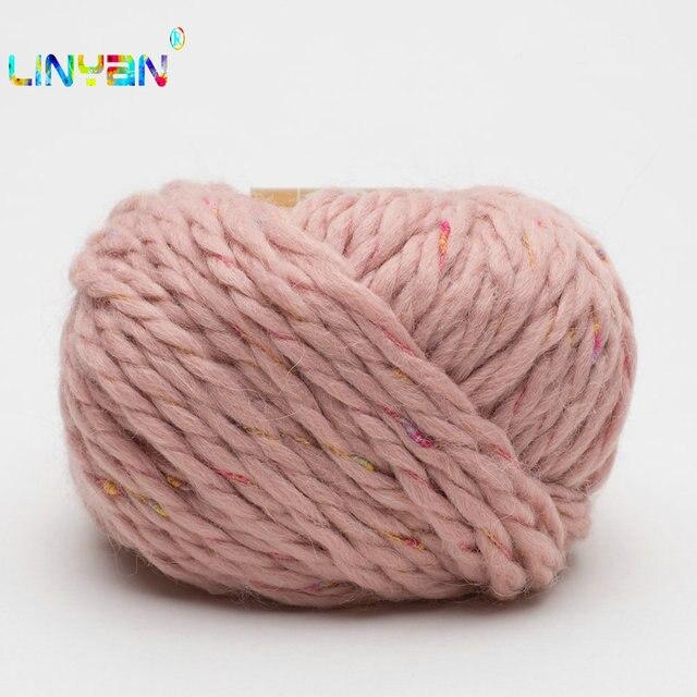 2 шары 50 г пряжа для вязания шерсть ручной линия вязать руки