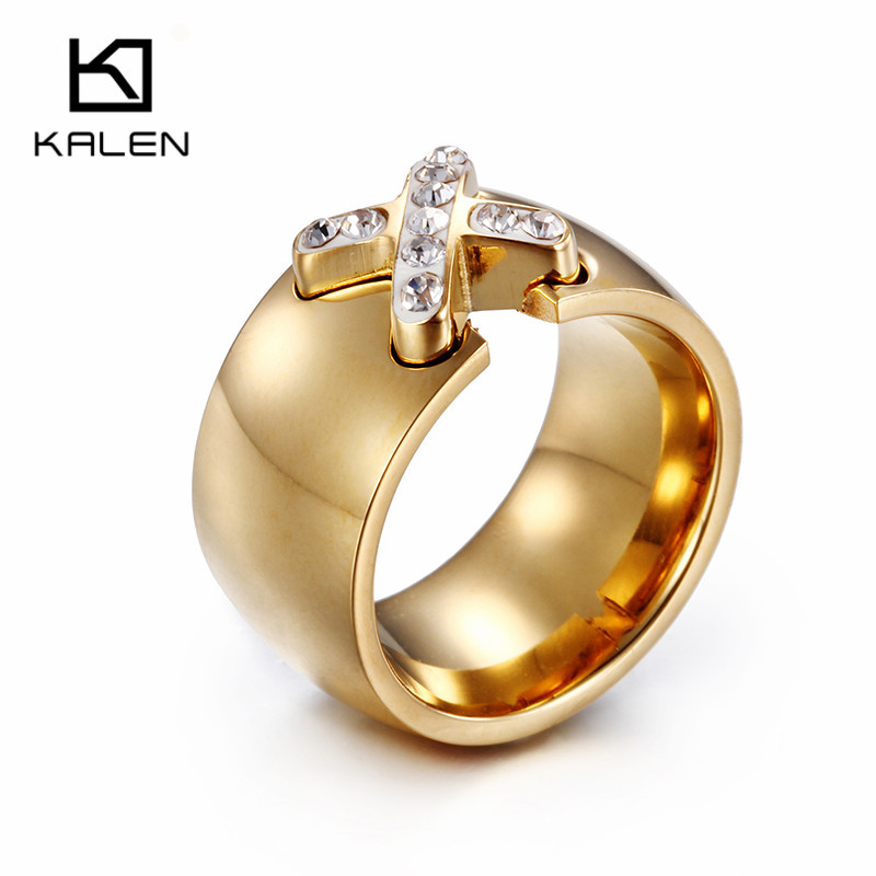 Beautiful Jewelry Arabic Gold Color Casting Rings Kalen New Design ...