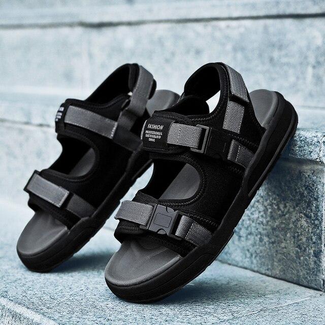 bdc149ba0b49 Fires Men Sandal Shoes Tracking Summmer Comfortable Sandals Mens New Big  Size 45 46 Outdoor Beach