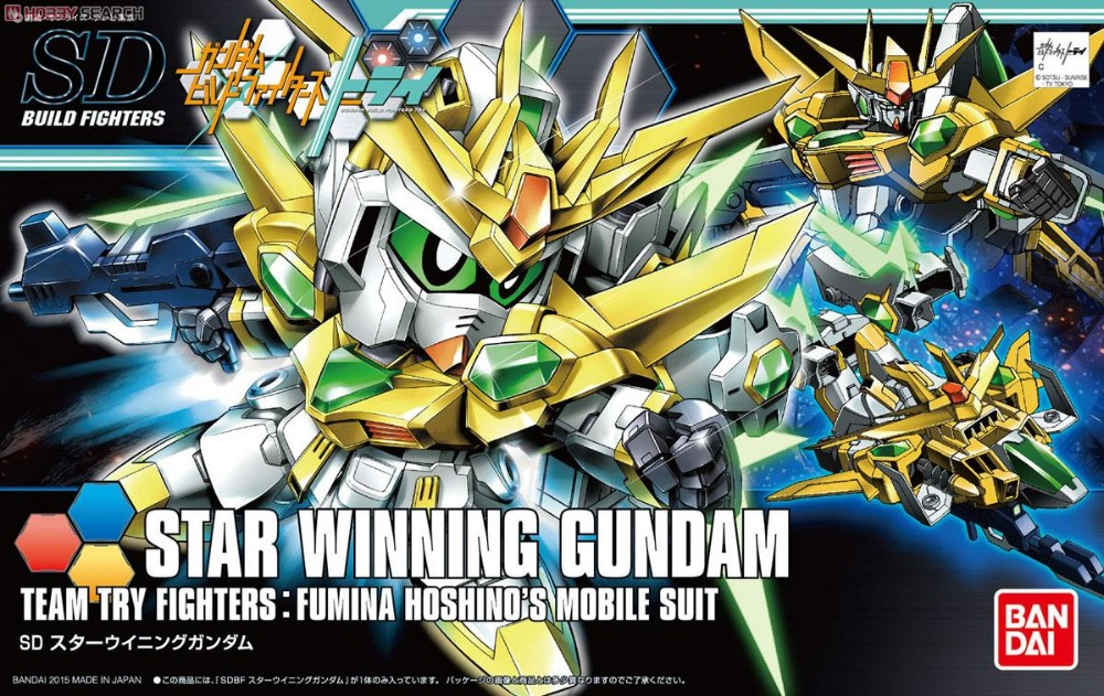 1PCS Bandai HG Build Fighters HGBF 030 1/144 Star Winning Gundam Mobile Suit Assembly Model Kits Anime action figure Gunpla средство для чистки пор nagara с древесным углем 4 шт
