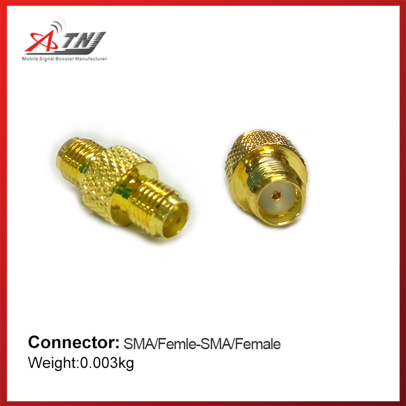 New Arrival !!ATNJ Top Quality SMA/Female -SMA/Female Connector