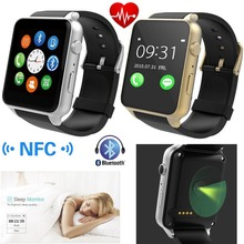 GT88 Smart Watch NFC Bluetooth Wristwatch Phone With Screen Touch Heart Rate Monitor Pedometer For Android IOS Mobile Phones