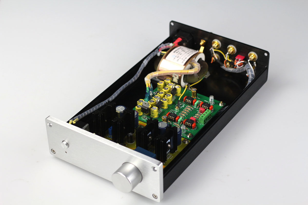 купить ZEROZONE Finished hifi Class A Dual differential FET preamp / RIAA MM Phono preamp L6-2 по цене 8975.67 рублей