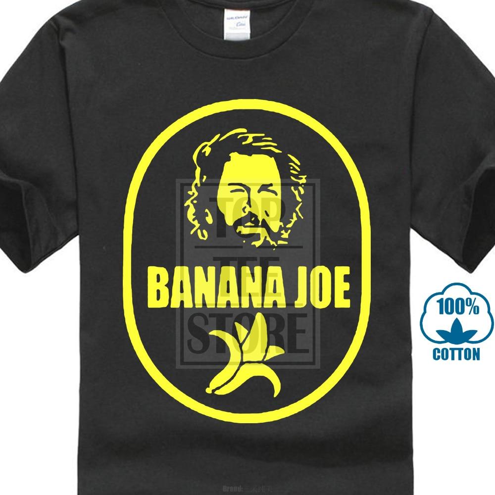 78c4a408 Hot New Summer Fashion T Shirt Bud Spencer Banana Joe Telefilm Cinema Tv  Idea Regalo Tutte