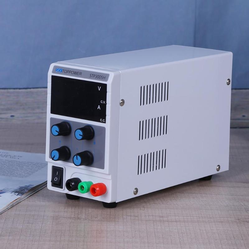 High Precision Adjustable Digital Display Switching DC Voltage Regulated Power Supply 0-30V 0-5A Display factory price