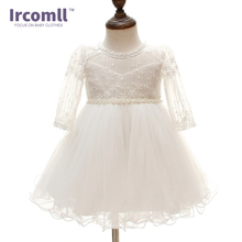 Newborn Baby Girl Christening Gown Infant Girl's White Princess Lace Baptism Dress Toddler Baby Girl Chiffon Dresses newborn baby girl lace dress baptism sets baby gown christening dresses first communion infant birthday party wear for 0 2 years