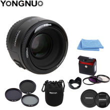 Auto-Focus-Lens Lens-Cleaning-Pen YONGNUO Ef-Mount 50MM Canon Eos-Camer YN F1.8