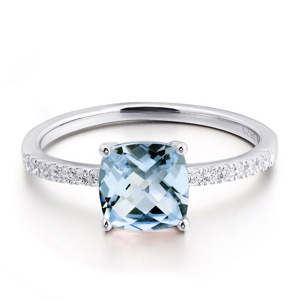silver birthstone rings march original product gold carolinebrook ring aquamarine and