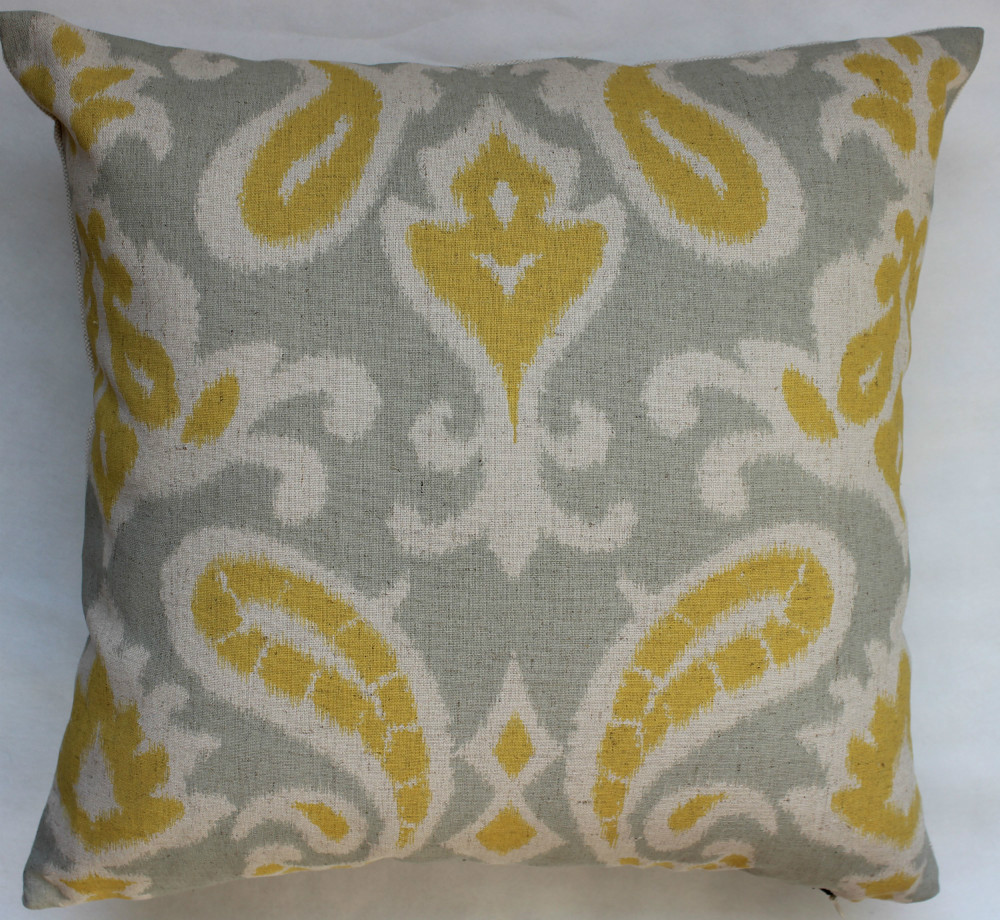 Paisley Chair Us 9 8 Vezo Home Sofa Cushions Home Decorative Throw Pillows Printed Vintage Paisley Chair Seat Pillowcase Retro Yellow Floral 18x18