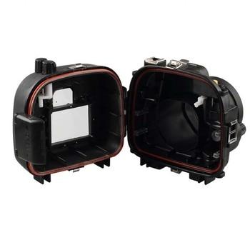 Meikon 40m/130ft Underwater Camera Housing Case for Canon EOS 650D 700D 18-55mm