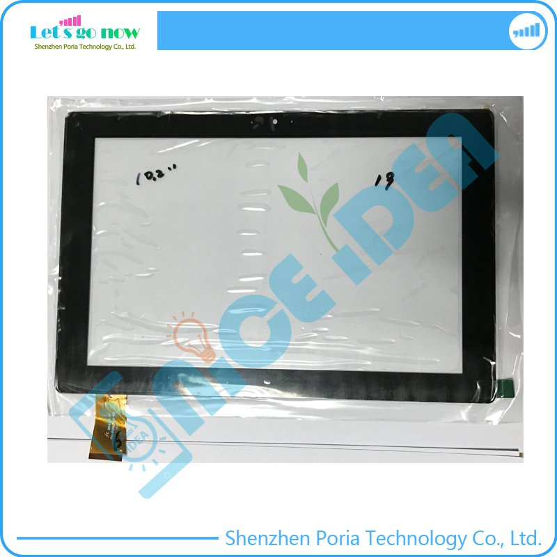 100% New 10.2'' Inch Touch Screen Digitizer For FPC-FC101JS124-03 1520 Black Front Tablet Touch Panel Glass replacement image
