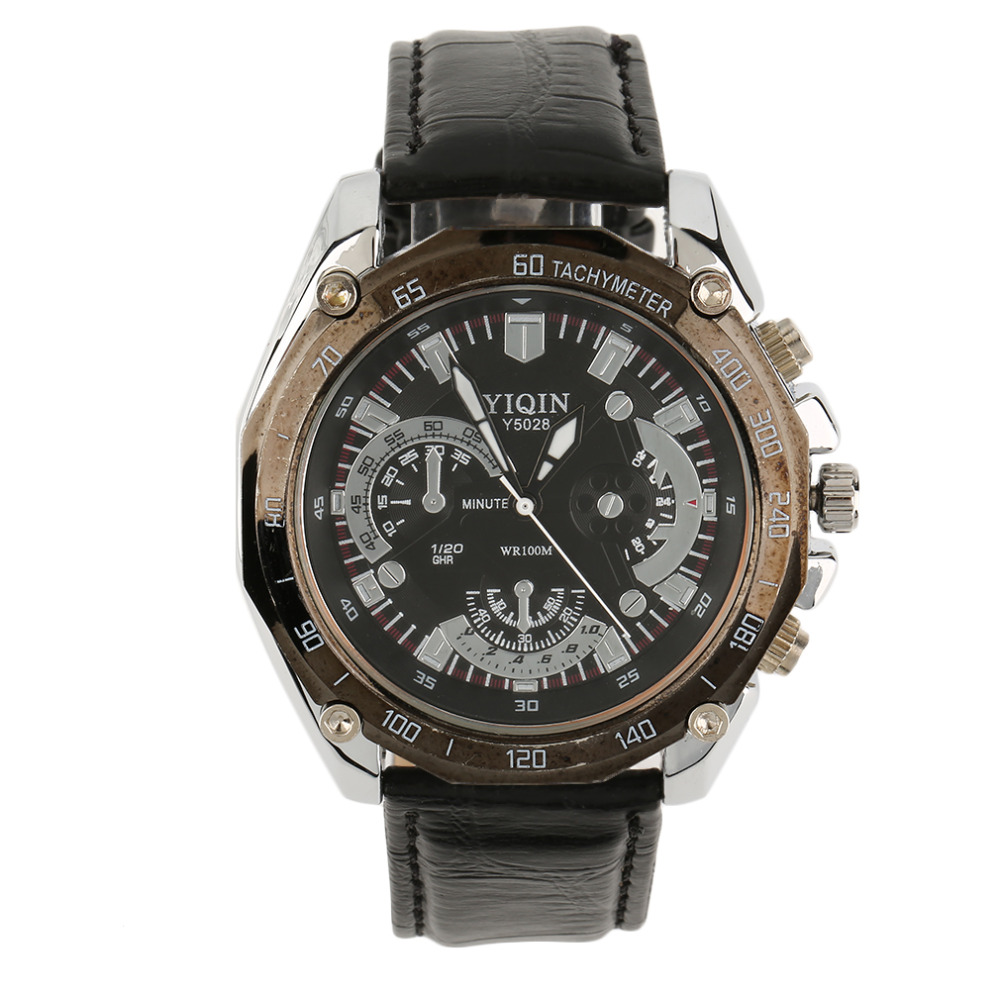 2017 Men Business Exquisite Analog Quartz Wrist Watch Leather Band Fashion Gifts relogio feminino New Hot Selling