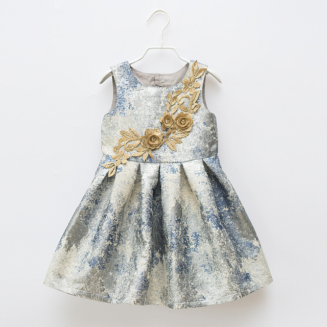 2019 Gadis Gaun Pesta Anak Pakaian Putri Mewah Bayi Perempuan