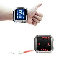 Медицинское оборудование LLLT запястье доктор лазер терапевтические часы Низкая Лазерная терапия устройство с одобренным CE