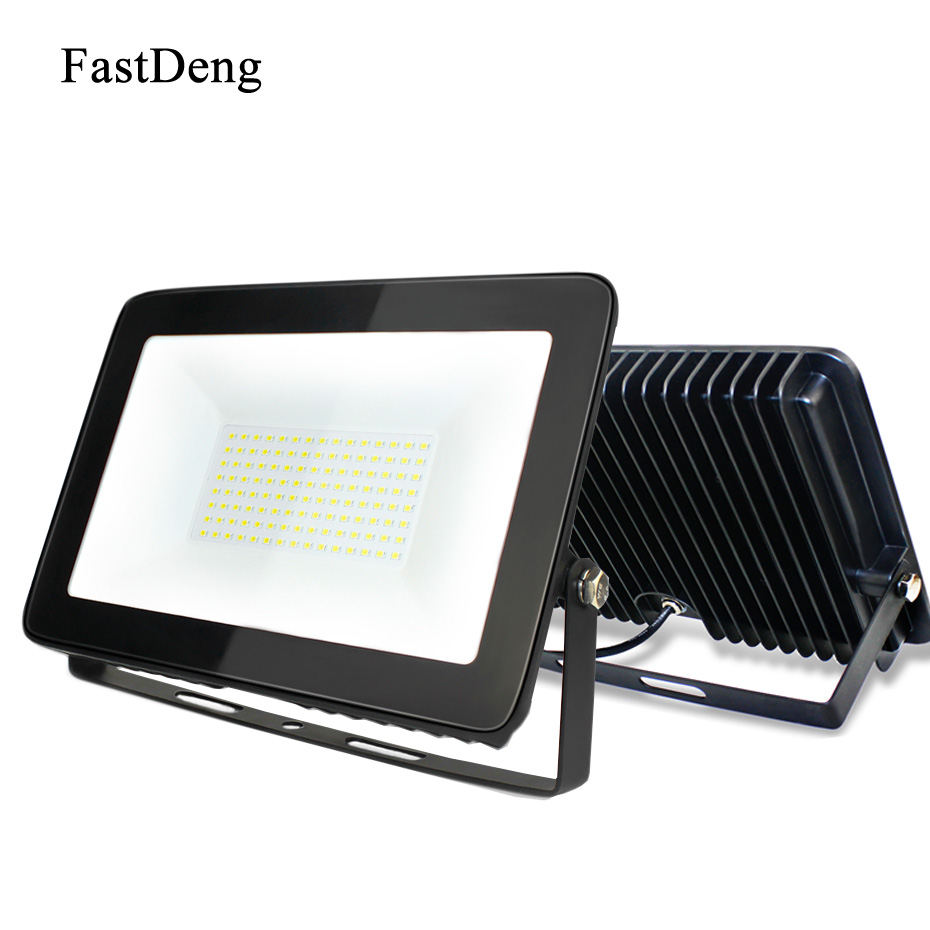 Outdoor LED Floodlight Waterproof IP66 Reflector Led 100W 150W 50W 30W 10W Spotlight Ult ...