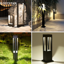 Уличный светодиодный светильник для газона, водонепроницаемый садовый светильник для газона, ландшафтный светильник, садовый дорожный декоративный светильник, светильник для газона