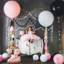 40inch Standard round Balloon Big Circle Helium Latex Wedding Birthday Party  Valentines Day Anniversary Decoration