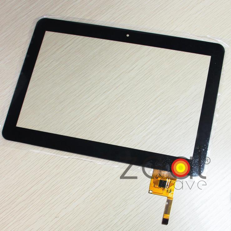 Black 10.1 inch Capacitance Touch Screen Panel Digitizer Glass YTG-P10008-F5 Free Shipping with Tracking No. стоимость