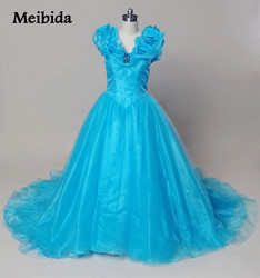 Hot dresses 15 years sky blue cinderella quinceanera dresses with butterfly puffy corset masquerade ball gown.jpg 250x250